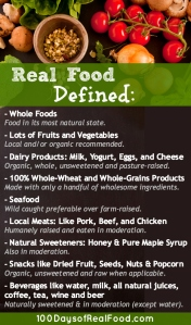 Do YOU want to take the REAL FOOD PLEDGE?